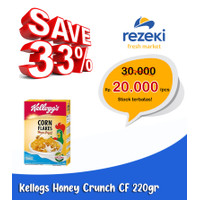 Kellogs Honey Crunch Corn Flake [ 220gr ]
