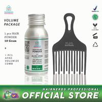 Hairnerds Professional FreestyleDust Powder + Afro Comb