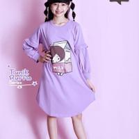 Atasan Baju Muslim Anak / Tunic Balon By Vitto Kids Wear Usia 4-12Thn