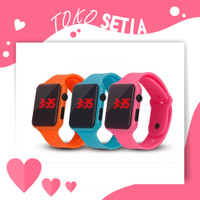 TOKOSETIA JT007 Jam Tangan Digital LED Display Fashion Kids & Remaja