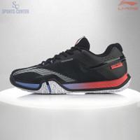 New Sepatu Badminton Lining SAGA 2020 LITE AYTQ025/ AYTQ 025 Black