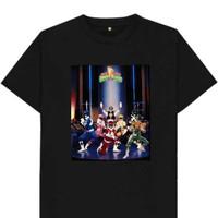tshirt-baju-kaos power rangers mighty morphin