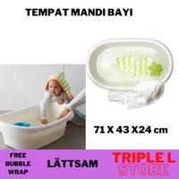 Tempat Bak Mandi Bayi Bathtub Anti Slip IKEA Lattsam
