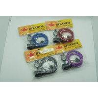 Kunci Gembok Sepeda Spiral Atlantis 108