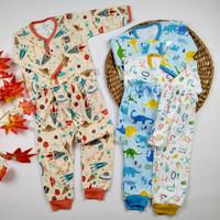 Baju Anak Bayi Setelan Baju Panjang Little Q Pakaian Baby SNI Halus