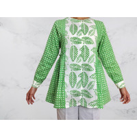Blouse green assila
