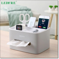 ECOCO Box Kotak Penyimpanan Office Desk Case Organizer - Gray