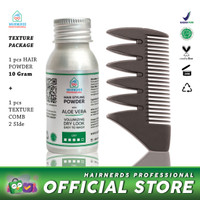 Hairnerds Professional Powder + Texture Comb / Styling Comb