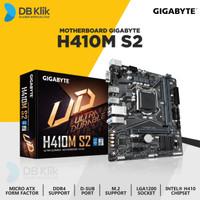 Motherboard Gigabyte H410M-S2 mATX LGA1200 DDR4 VGA- Gigabyte H410M S2
