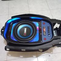 Audio bagasi Yamaha nmax