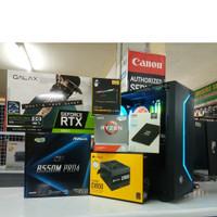Pc Cpu Rakitan Gaming Ryzen 9 3900x Feat RTX 3060 Ti 8gb