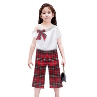 Two Mix Setelan Baju anak Perempuan Fashion Korea 4115 Usia 1-8 tahun - Cokelat, 2