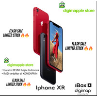Iphone XR 64GB 128GB 256GB Garansi RESMI ibox / Digimap