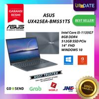 Asus Zenbook UX425EA-BM551TS I5-1135G7 8GB 512GBssd FHD W10 OHS2019