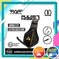 Headset Gaming Armaggeddon Pulse 7 Mobile Armagedon Pulse 7