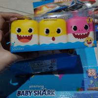 Mainan Squishy baby shark emco original isi 3 - c