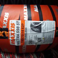 MAXXIS 140/70-14 MAFIST TUBELES BAN BELAKANG MOTOR YAMAHA AEROX