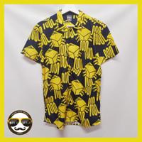 Baju Kemeja Motif Printing Hawai Pria Wanita Import Abstrak Okay