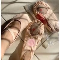 Sepatu Balet Kanvas Polos - Remaja & Dewasa