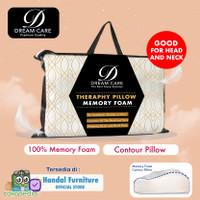 Promo ! Bantal Contour 100% Memory Foam Dream Care