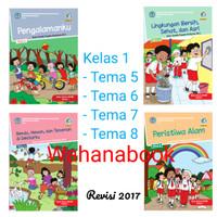 paket buku sd tematik kelas 1 semester 2 tema 5,6,7,8 total 4 buku