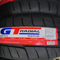 Ban GT Champiro SX2 195/50/R15 semi slick 4pcs