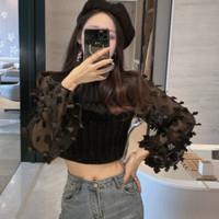 Mimosa Knit Top Lengan Panjang Import TM 8626-2