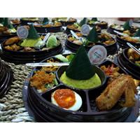 Nasi Tumpeng Mini | Tumpeng Nasi Kuning | Tumpeng Hemat Size Mika D.20 - Tumpeng Saja