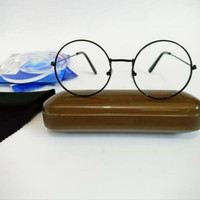 Kacamata Bulat Korea Anti Radiasi Pria Wanita Bisa Pakai