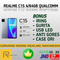 REALME C15 4/64 QUALCOMM EDITION 6000mAh