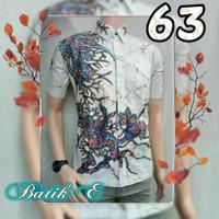 baju lengan pendek batik terbaru harga grosir - kemeja batik murah