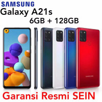 Samsung Galaxy A21s 6/128 Garansi Resmi SEIN RAM 6GB 128GB 64GB