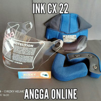 BUSA HELM + KACA HELM INK CX22 FULLSET INK CX 22