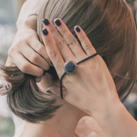 JEPIT RAMBut KOREA KARET BANDO IKAT HAIR ACCESSORIES IMPORT topi anak - random