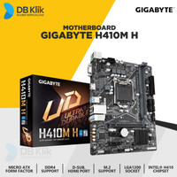 Motherboard Gigabyte H410M-H mATX LGA1200 DDR4 HDMI - Gigabyte H410M H