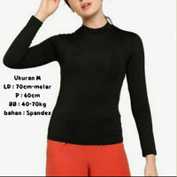 Manset Kaos /Panjang dalaman baju (M)/mangset wanita muslimah