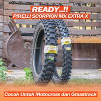PIRELLI SCORPION MX EXTRA X 110/100-18 80/100-21 Ban Motocross KLX CRF