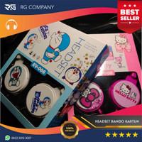 Headset Bando Karakter Hello Kitty Doraemon Headphone