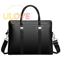 Leather Laptop Bag for Up to 14 Inches,for Xiaomi Apple Samsung