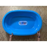 Fishpond/Kolam/Bak ikan kura/hydroponik BIRU (P100,5xL64,8xT24 cm)