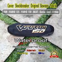 (SINGLE SHOCK) Sarung cover sokbreker shockbreaker Vario 125 150 BEAT