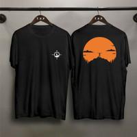TP Kaos distro pria Hiking DB T-shirt pria Baju pria Atasan pria