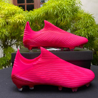 Sepatu Bola Adidas X 19.1+ Shock Pink Chroome FG