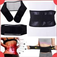 Tourmaline Pinggang Back Waist Support Sabuk Terapi Pemanas Magnetic