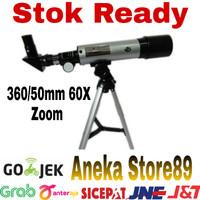 Teropong Bintang Astronomical Telescope 360/50mm 60X F36050