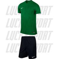 Kaos Stelan Olahraga + Celana Jersey ,Sepakbola ,Futsal Hijau Timnas - Hijau