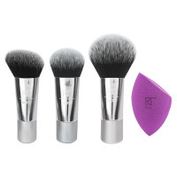 Real Techniques 4085 Sparkle On The Go 4 pieces Makeup Brush Set