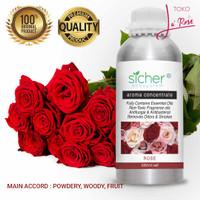 Essential Oil Rose 1000ml Aromatherapy Natural Minyak Aroma Terapi 1L