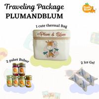 Paket Mpasi 6 Botol BB Booster Puree Buah / Free Bag / Penambah Nafsu