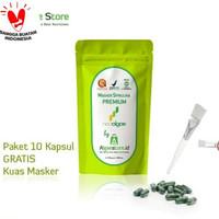 Masker Wajah Masker Spirulina Premium Neoalgae